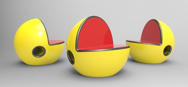 Pac-Man chair