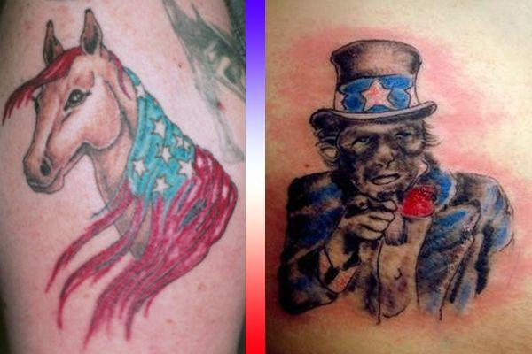 Patriotic Tattoos So Bad They Re Un American Neatorama