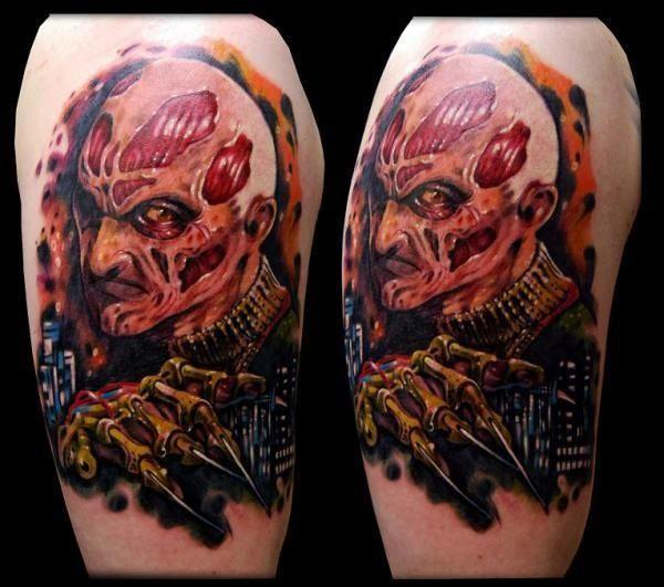 Horror Movie Tattoos Tattoos: Terrifying Horror Movie Tattoos