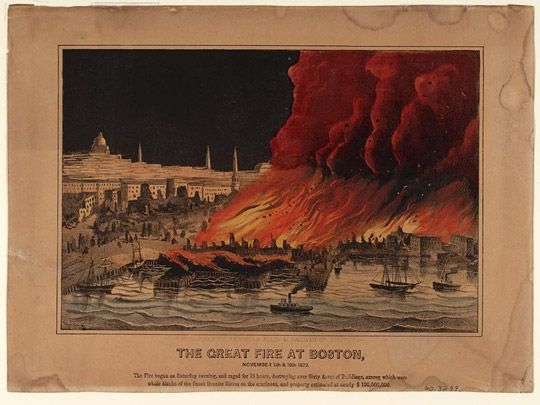The Great Boston Fire Neatorama