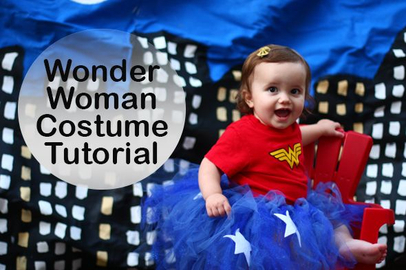 16 super easy kids halloween costumes you can diy neatorama every little girl is wonderful but with a blue tutu some felt stars and a wonder woman tee she can actually become wonder woman as well solutioingenieria Gallery