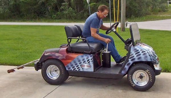 200 Hp Golf Cart Goes 100 Mph Neatorama