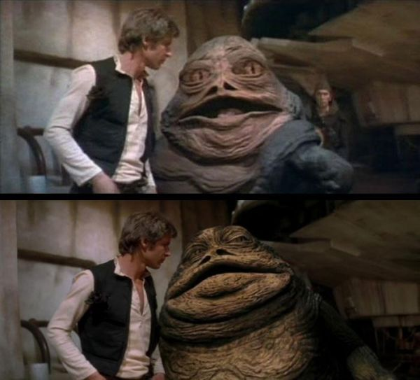 Videos Revealing Every Change Made To The Original Star Wars - Scenes original star wars created cgi