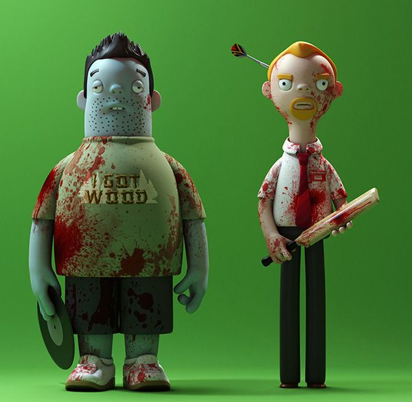 Three Sets Of Vinyl Toys Inspired By The Cornetto Trilogy ...