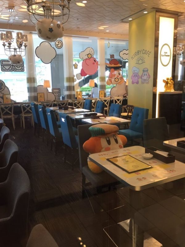 you u0026 39 ll never dine alone at the kirby cafe