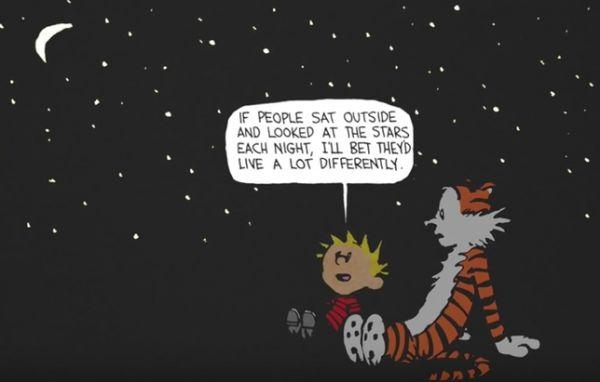 Calvin & Hobbes: Art Before Commerce