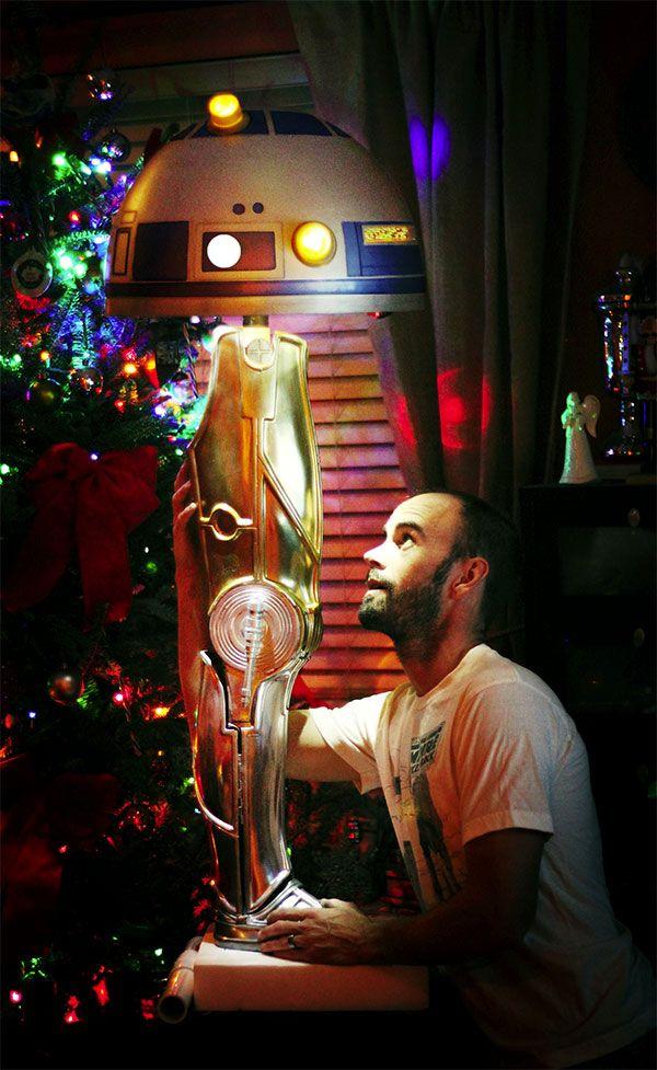 Christmas Story Inspired C 3po Leg Lamp Neatorama