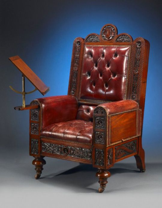 Captivating The Gentlemanu0027s Surprise Chair (c. 1880) Contained Hidden Games, Liquor,  And Naughty Photographs   Neatorama