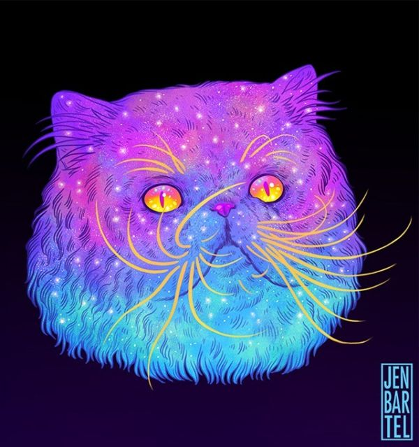 Space Out On These Galactic Cats - Neatorama