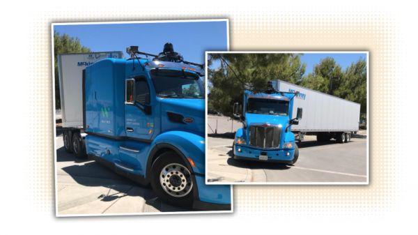 Google's Self-Driving Semi Trucks