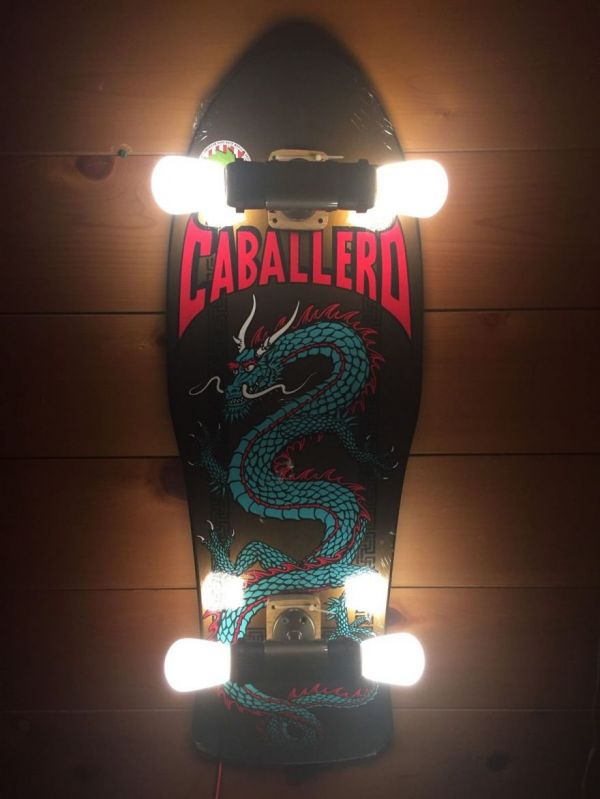 Skateboards Turned Into Lamps Neatorama