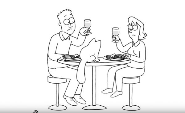 Simon's Cat in Dinner Date: Just Desserts