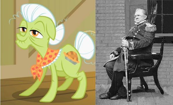 Granny Smith and Winfield Scott