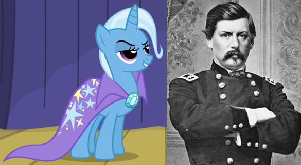 Trixie and George McClellan