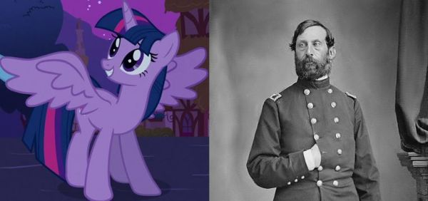 Twilight Sparkle and Henry Jackson Hunt