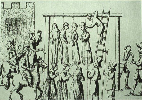 Salem witch trials?
