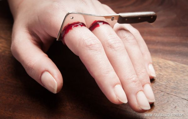 Bloody Cleaver Ring Neatorama