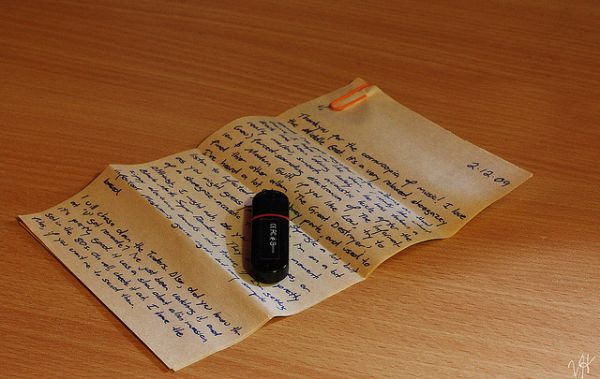 the case for handwritten letters neatorama