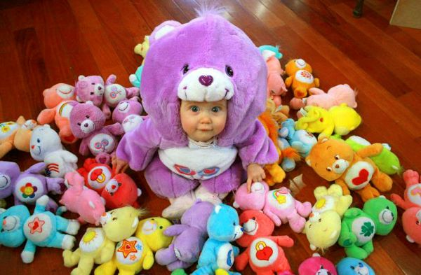 Baby In Cosplay Costume