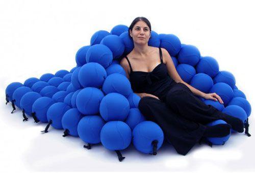 Weird Chair Bed Consists Of 120 Soft Balls Neatorama