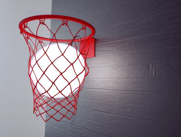 Basketball Lamp - Neatorama