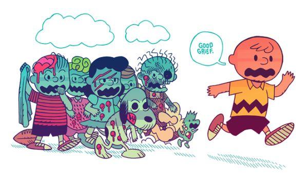 Geektastic Halloween Art By Dan Hipp Neatorama