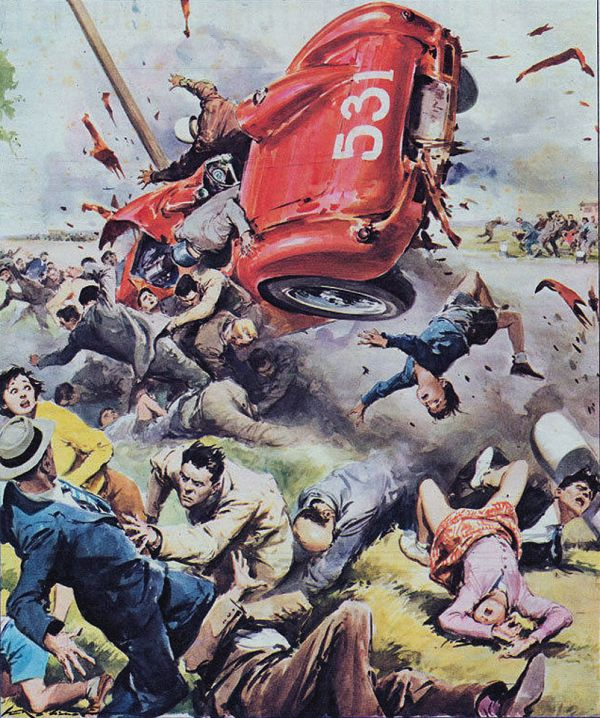 Amazing Mid-20th Century Disaster Illustrations By Walter Molino