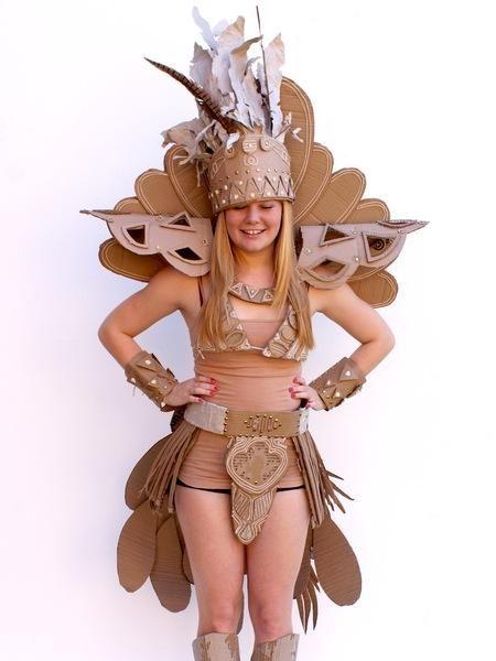 Cardboard Couture Neatorama