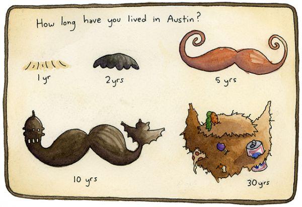 Austin facial hair