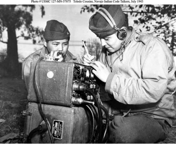 inthelast_rip, the last of the navajo code talkers