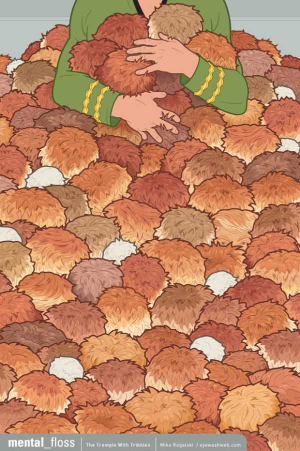 Can You Spot The Trump In This Pile of Tribbles?