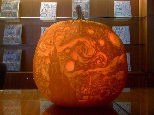 Starry Night Jack O Lantern Neatorama