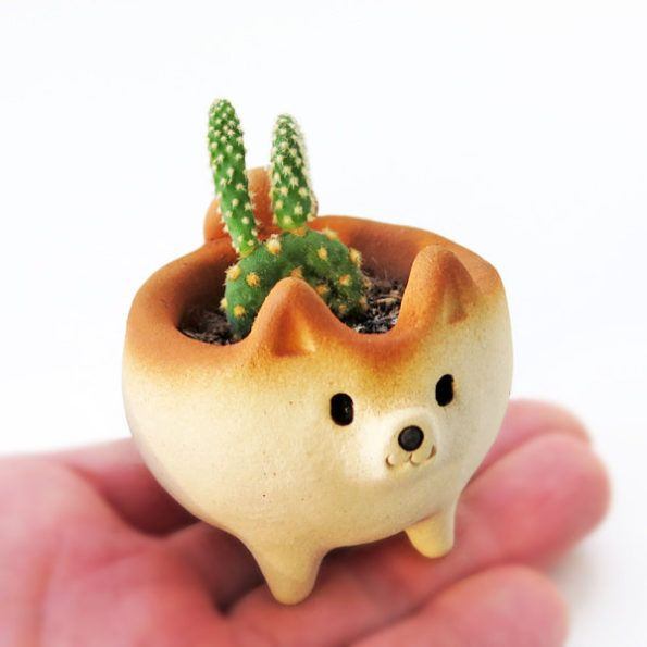 You Need To Get Your Paws On These Cute Puppy Planters And