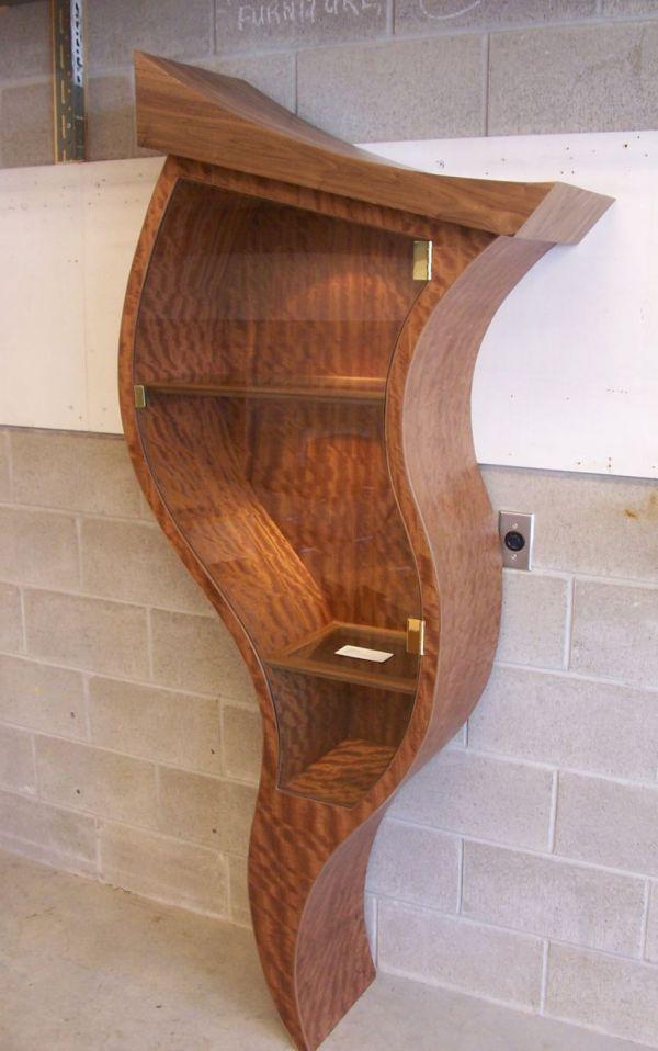 curvy bookcase