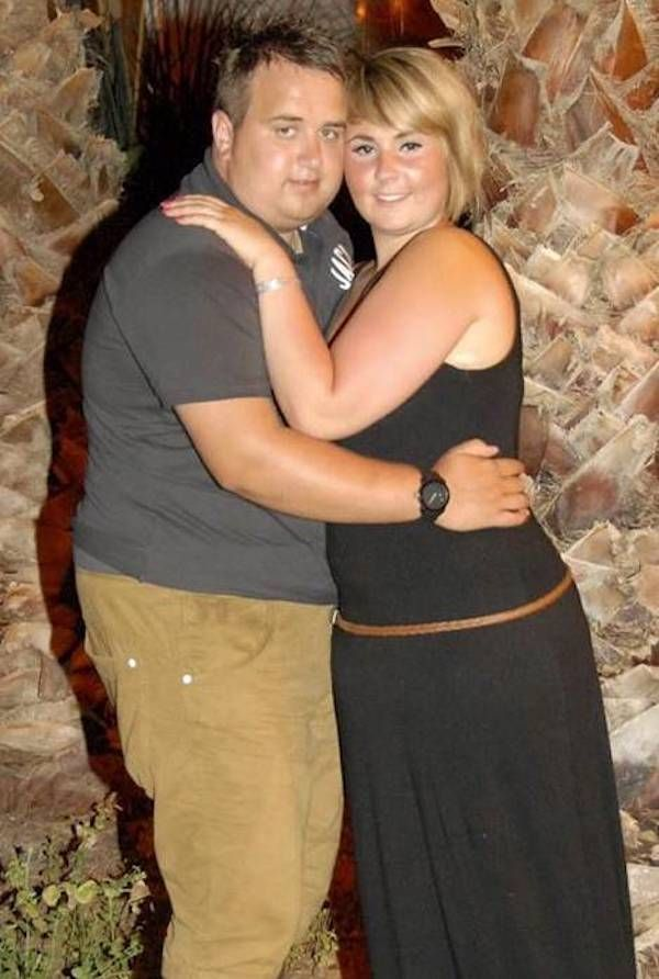 Engaged Couple Loses a Combined 133 Pounds Before the Wedding ...