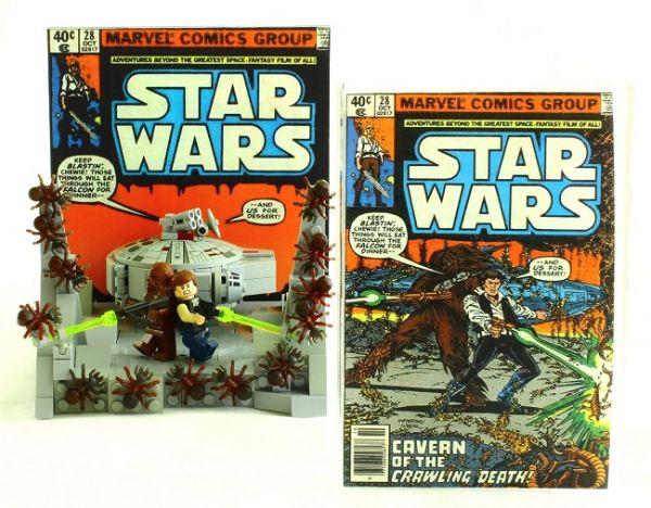 Comic Brick Show at Designer Con Presents Comic Book Covers in LEGO ...