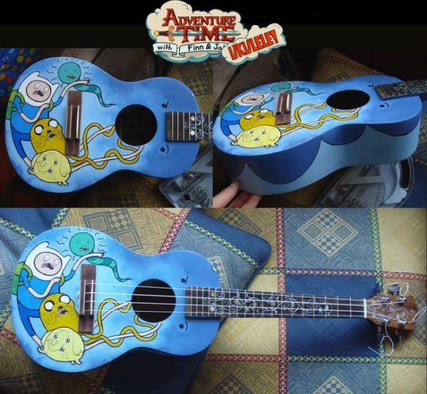 Adventure Time Ukulele Neatorama