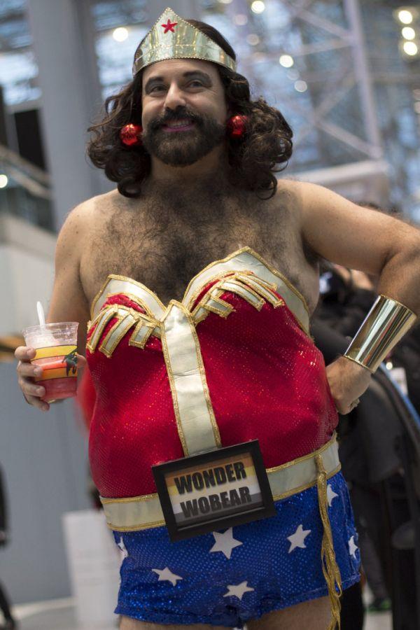 wonder woman man costume