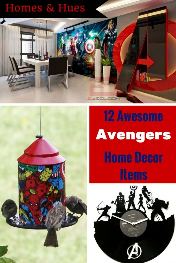 Great Pieces Of AvengersThemed Home Decor Neatorama - Avengers inspired home decor
