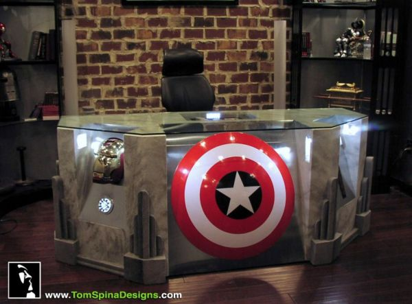 So If Your Home Could Use A Little More Heroism Visit Homes And Hues For The Full List 12 Awesome Decor Pieces Inspired By The Avengers