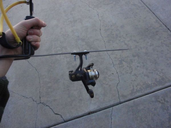slingshot fishing rod