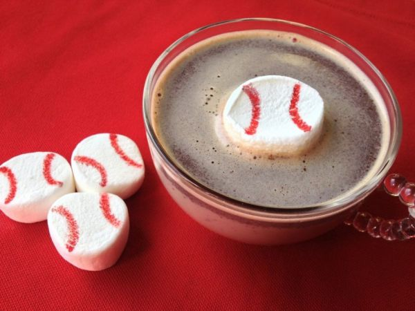 baseball marshmallows