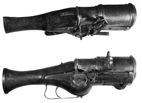 hand mortars