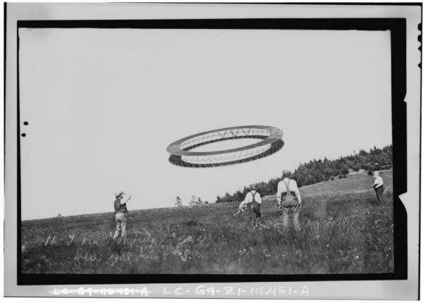 Alexander Graham Bells Tetrahedral Kites