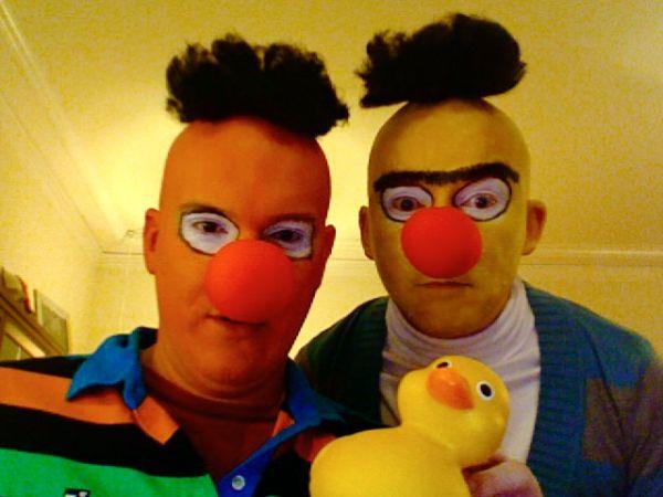Ernie Und Bert Kostüm