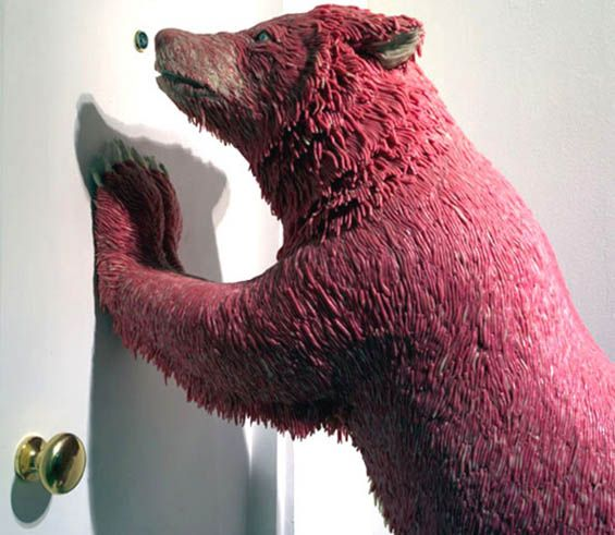 Incredible Sculptures Made Out Of Bubble Gum - Neatorama