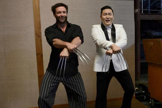 Gangnam Style Wolverine