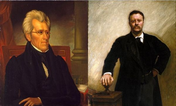 Jackson and Roosevelt