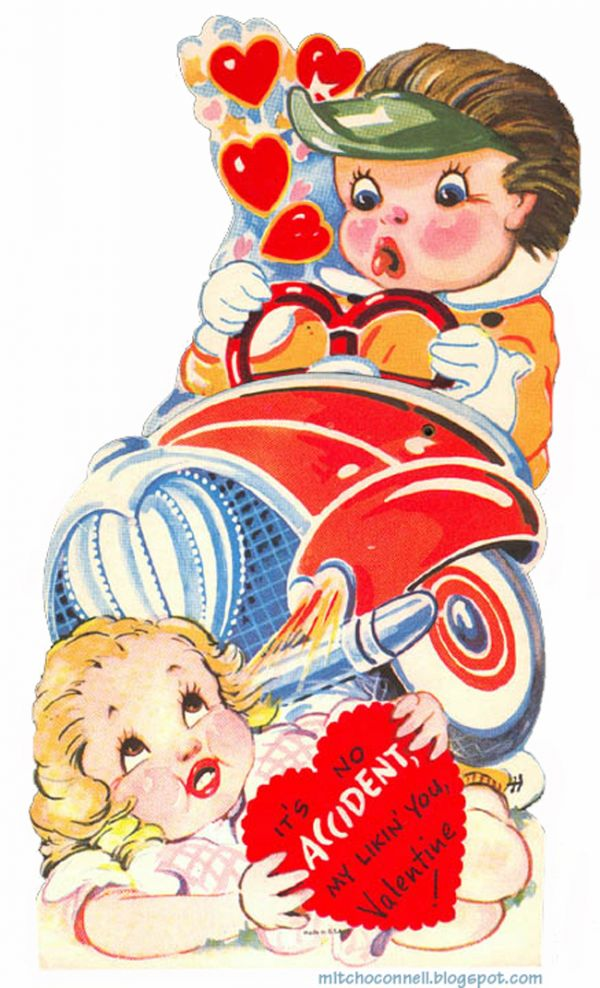 Violent Vintage Valentines: Just The Thing For Budding Serial Killers Or  Other Deviants   Neatorama
