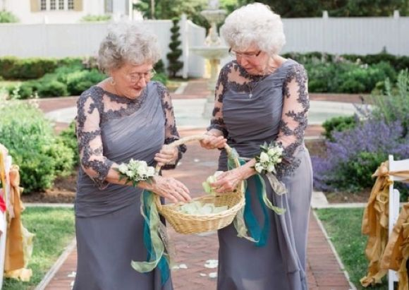 Grandmothers in the Wedding Party